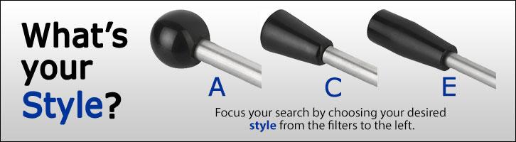 KIPP Gear Lever Style Options