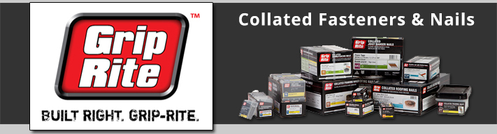 AFT is your source for Grip Rite collated fasteners & nails.