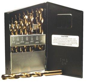 Norseman 68360 | 21pc Cobalt Heavy Duty Jobber Drill Bit Set