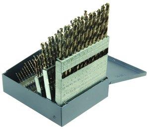 Norseman 68420 | 60 Piece Cobalt Heavy Duty Jobber Drill Bit Set
