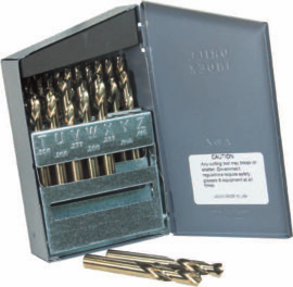 Norseman 66490 29 Piece Fractional Screw Machine Length Drill Bit Set