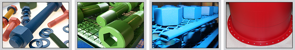 Xylan Coating Service - Xylan Coated Bolts, Studs & Screws