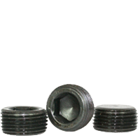 "Image of 1/2""-14 Pipe Plugs Alloy Flush-Seal 7/8"" Taper Black Oxide (USA) (50/Pkg.)"