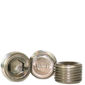"Image of 1/4""-18 Pipe Plugs 18-8 Stainless Dry-Seal 3/4"" Taper (50/Pkg.)"