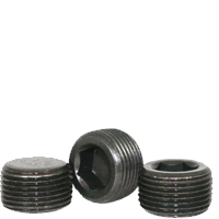 """Image of 1""""-11 1/2 Pipe Plugs Alloy Dry-Seal 3/4"""" Taper Black Oxide (USA) (25/Pkg.)"""