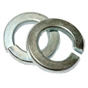 "1/4"" Regular Split Lock Washers Alloy Thru-Hardened Zinc-Yellow (100/Pkg.)"