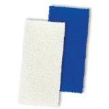 """Utility Pads - 4-1/2"""" x 9-1/2"""" x 1"""" - White, Mercer Abrasives 284WHT (30/Pkg.)"""
