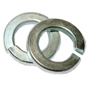 M24 DIN 127B Split Lock Washers Thru-Hardened Zinc Cr+3 (500/Bulk Pkg.)