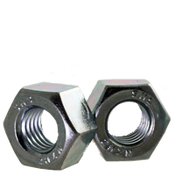 "1 1/8""-8  Heavy Hex Nut, A194/SA194 2H, 8 Pitch, Zinc Cr+3 (350/Bulk Pkg.)"