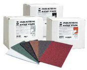 "Industrial Strength Hand Pads - 6"" x 9"" - Grey, Mercer Abrasives 285GRY (20 Pads/Box)"