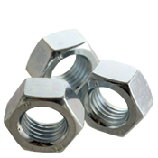 M8-1.00 Hex Nut, Class 8 DIN 934 Zinc Cr+3 (200/Pkg.)