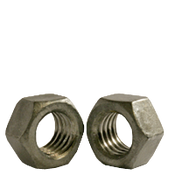 "1/4""-20 Finished Hex Nuts, Grade 2, Coarse, Low Carbon Steel, Hot Dip Galvanized (6000/Bulk Pkg.)"