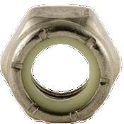 #12-24 NM (Standard) Nylon Insert Locknut, Coarse, Stainless A2 (18-8) (5000/Bulk Pkg.)