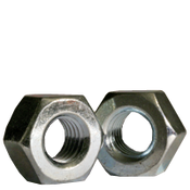 "3""-4 Heavy Hex Nut, A563 Grade A, Coarse, Zinc Cr+3 (4/Bulk Pkg.)"