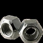 "9/16""-18 All Metal Hex Locknuts Grade C Med. Carbon Zinc & Wax Cr+3 (500/Bulk Pkg.)"