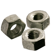 "9/16""-12 Heavy Hex Nut, A563 Grade A, Coarse, Hot Dip Galvanized (500/Bulk Pkg.)"