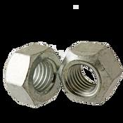 M14-2.00 Hex Cone Locknut Class 10 Med. Carbon Zinc & Wax Cr+3 DIN 980v (100/Pkg.)
