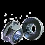 M5-0.80 Class 8 Hex Flange Nut, Coarse, Zinc Cr+3, DIN 6923/ISO 4161 (5000/Bulk Pkg.)