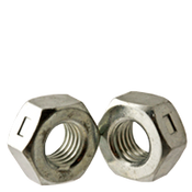"3/8""-24 Reversible Locknut, Low Carbon Zinc Cr+3 (2000/Bulk Pkg.)"