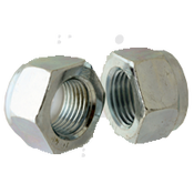 M6-1.00 Nylon Insert Locknut Class 10, DIN 985, Zinc Cr+3 (3500/Bulk Pkg.)