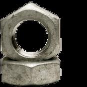 "3/4""-10 Hex Jam Nut, Coarse, Low Carbon Steel, Hot Dip Galvanized (600/Bulk Pkg.)"