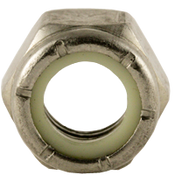 """7/16""""-20 NTE (Thin) Nylon Insert Locknut, Fine, Stainless A2 (18-8) (2000/Bulk Pkg.)"""