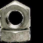 "1 3/8""-6 Hex Jam Nut, Coarse, Low Carbon Steel, Hot Dip Galvanized (100/Bulk Pkg.)"