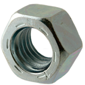 "5/16""-18 Hex Nut, Grade 8, Coarse, Alloy Steel, Zinc-Bake Cr+3 (3400/Bulk Pkg.)"
