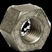 "1""-8 Heavy Hex Nut, A194/SA194 2H, Hot Dip Galvanized/Wax (USA) (450/Bulk Pkg.)"
