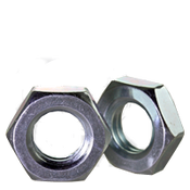 M5-0.80 Hex Jam Nut, Class 04 DIN 439B / ISO 4035, Coarse Zinc Cr+3 (1000/Pkg.)
