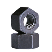 "1""-8 Heavy Hex Nut, A194/SA194 2H, Plain (USA) (450/Bulk Pkg.)"