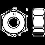 M8-1.25 Hex Nut, Class 8 DIN 934, Zinc-Yellow (3500/Bulk Pkg.)