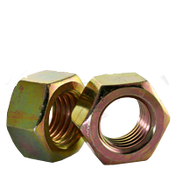 "7/16""-14 Grade 5 Hex Nut, Zinc Yellow (1500/Bulk Pkg.)"