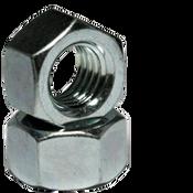"9/16""-18 Finished Hex Nuts, Grade 2, Fine, Low Carbon Steel,  Zinc Cr+3 (800/Bulk Pkg.)"