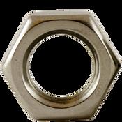 """1/4""""-28 Hex Jam Nut, Fine, Stainless Steel A2 (18-8) (3500/Bulk Pkg.)"""