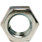 "1/4""-28 Hex Jam Nut, Fine, Low Carbon Steel  Zinc Cr+3 (9000/Bulk Pkg.)"