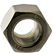 #10-24 NTM (Thin) Nylon Insert Locknut, Coarse, Stainless 316 (5000/Bulk Pkg.)
