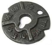 "7/8"" Round Malleable Iron Washers Plain (40 Lbs./Bulk Pkg.)"
