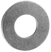 M5 DIN 125A Stainless Steel A2 Flat Washers (10,000/Bulk Pkg.)