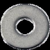 "#6x5/16""X0.032 Flat Washers 18-8 A2 Stainless Steel N400 (10,000/Bulk Pkg.)"