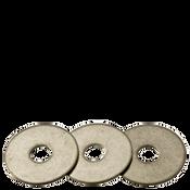 """3/16""""X1-1/4""""X0.05 Fender Washers 304 Stainless Steel (900/Bulk Pkg.)"""