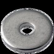 "#8x5/16""X0.032 Flat Washers 18-8 A2 Stainless Steel NAS 620 (10,000/Bulk Pkg.)"