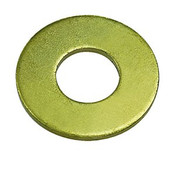 M6 DIN 125A Flat Washer 200 HV Zinc Yellow (15,000 /Bulk Pkg.)