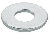 M8 DIN 125A Flat Washer 200 HV Zinc Cr+3 (10,000 /Bulk Pkg.)