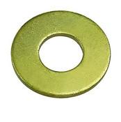 M4 DIN 125A Flat Washer 140 HV Zinc Yellow (15,000 /Bulk Pkg.)