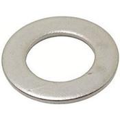 M4 Small Flat Washer DIN 433 Zinc Cr+3 (65,000 /Bulk Pkg.)