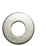"1/4"" Flat Washers Low Carbon USS Zinc Cr+3 (50 LBS/Bulk Pkg.)"