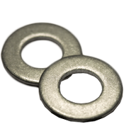 #12 SAE Flat Washers Low Carbon  Plain (100 /Pkg.)