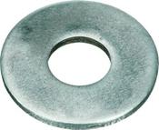 #6 SAE Flat Washers Low Carbon Zinc Cr+3 (100 /Pkg.)