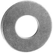"1"" USS Flat Washers Low Carbon HDG (100/Pkg.)"